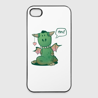 Hey! Comic Drache - iPhone 4/4s Hard Case