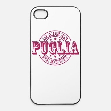 Italiaanse made in puglia m1k2 - iPhone 4/4s hard case