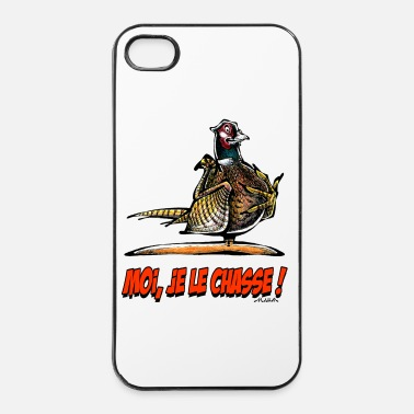 Chasse Le Faisan, Moi Je Le Chasse ! - Coque rigide iPhone 4/4s