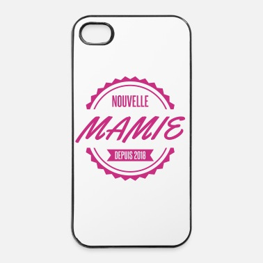 Parents nouvelle mamie depuis 2018 - Coque rigide iPhone 4/4s