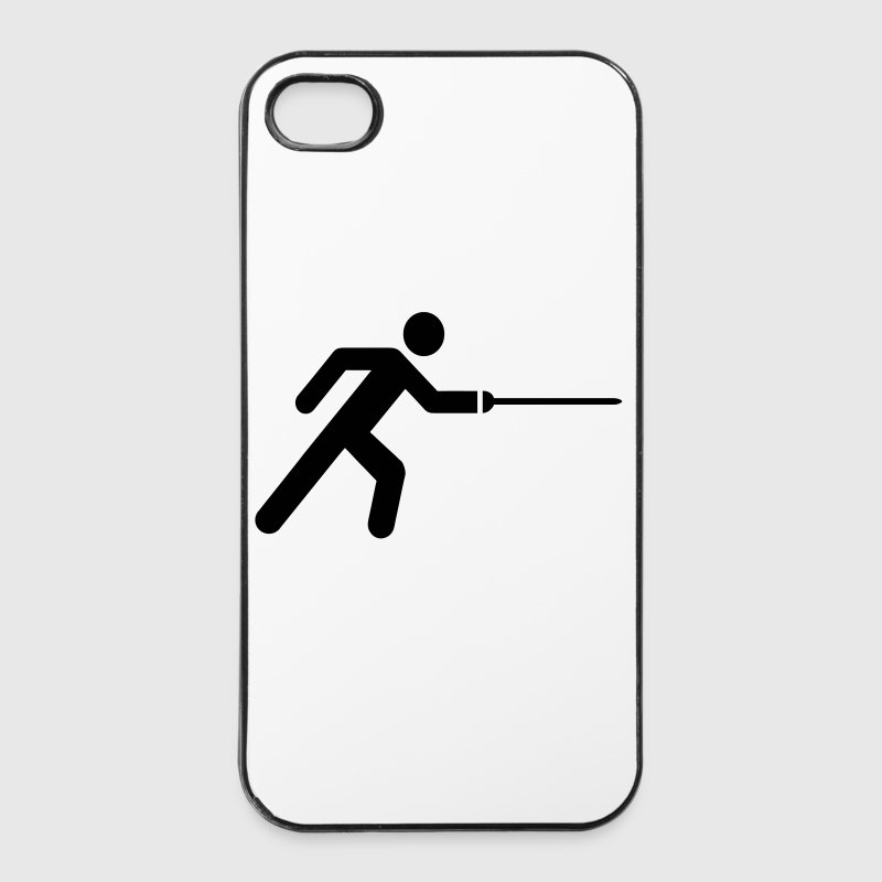 Escrime Icon - Coque rigide iPhone 4/4s