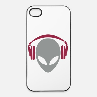 Dj alien 4 dj - Coque rigide iPhone 4/4s