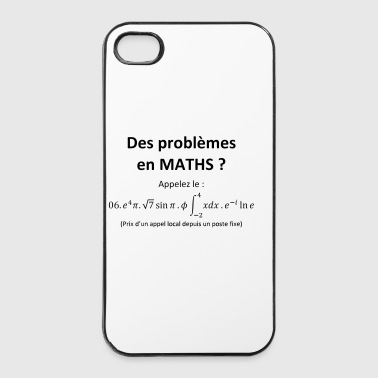 problemes_en_maths_humour - Coque rigide iPhone 4/4s
