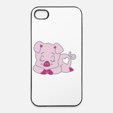 Cochon cochon qui dort - Coque rigide iPhone 4/4s