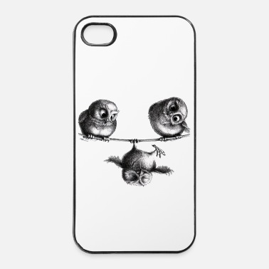 Lol Uilen - vrijheid en plezier - iPhone 4/4s hard case
