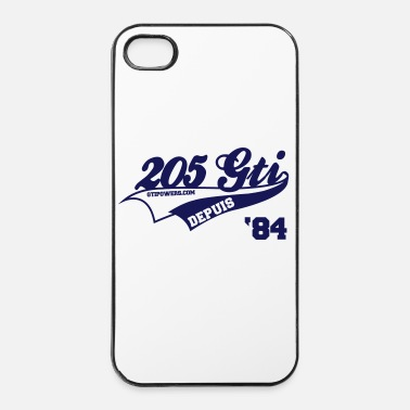 -205-gti-since-84 - Coque rigide iPhone 4/4s