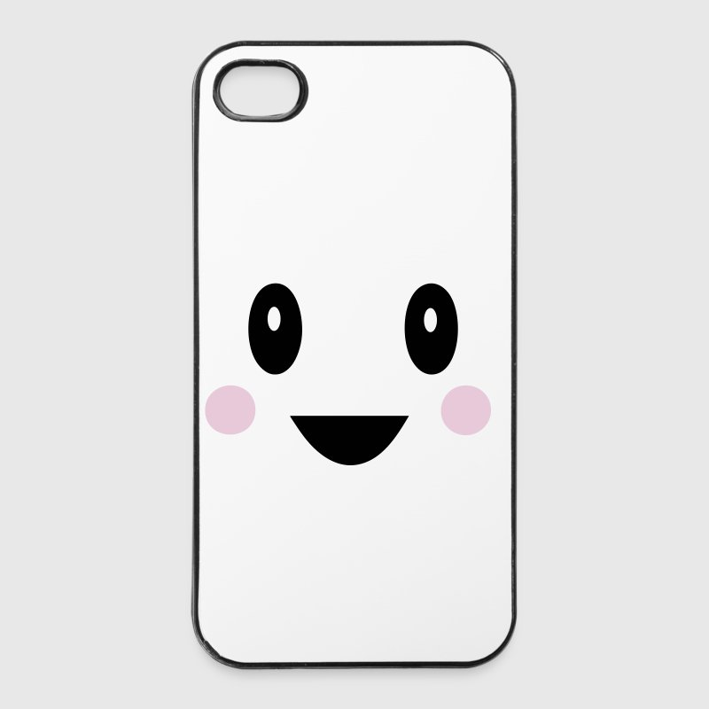 Smiley kawaii - Coque rigide iPhone 4/4s