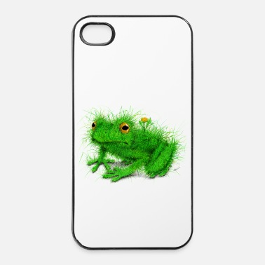 Tekening Kikker - Gras Frog - iPhone 4/4s hard case