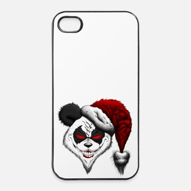 Chaos Evil Christmas Panda - iPhone 4/4s hard case