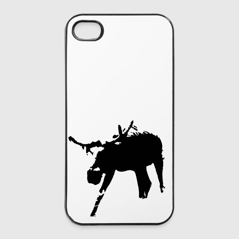 Schweden // Elch // Norwegen shirt // Wildnis - iPhone 4/4s Hard Case