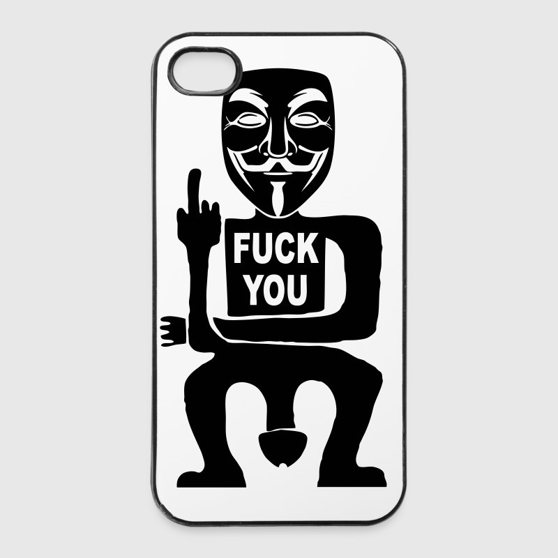 fuck you - iPhone 4/4s Hard Case