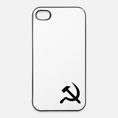 Communisme marteau - fauchille - Coque rigide iPhone 4/4s