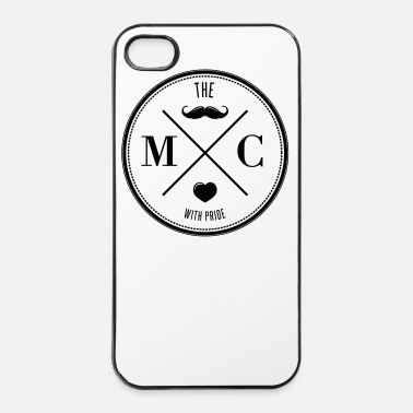 Barba The Movember Moustache Club with pride - Custodia rigida per iPhone 4/4s