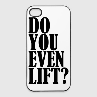 Do You Even Lift - Twarde etui na iPhone 4/4s