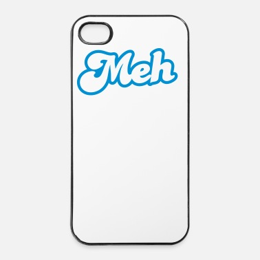 Weird meh? huh? wtf? word really funky design - iPhone 4 & 4s Case