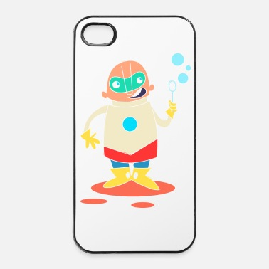 Héros super Heros kawaii 7 - Coque rigide iPhone 4/4s