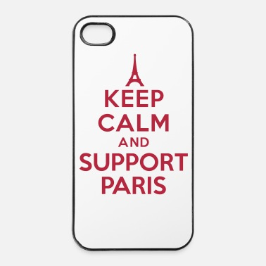 Champion Keep calm and support Paris - Coque rigide iPhone 4/4s