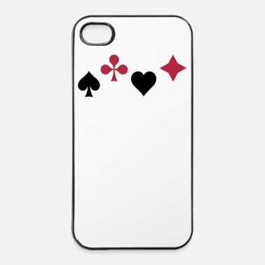 Pik Karten Poker Pik Ass 2c - iPhone 4 & 4s Hülle