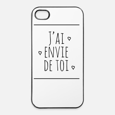 Sentiment j'ai envie de toi - Coque rigide iPhone 4/4s
