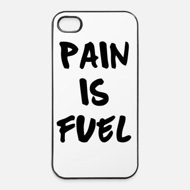 Cross Fit Pain Is Fuel - iPhone 4/4s kovakotelo