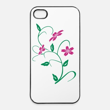 Fiore ibisco  fiore - Custodia rigida per iPhone 4/4s