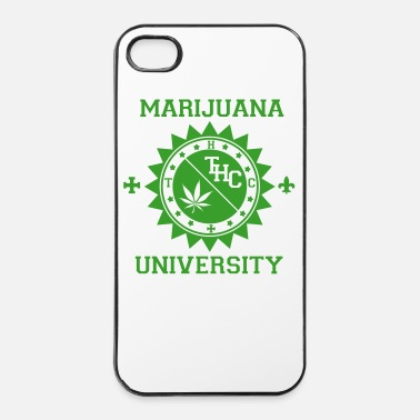 Hop Marijuana University - Coque rigide iPhone 4/4s