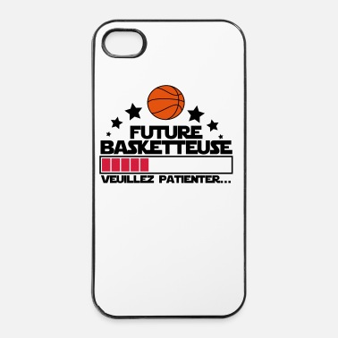 Panier future basketteuse - Coque rigide iPhone 4/4s