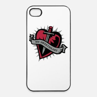 Valentinstag sweetheart - iPhone 4/4s Hard Case