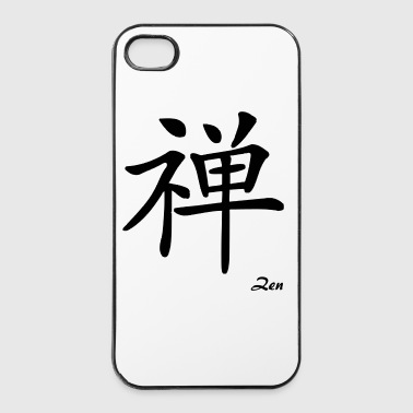 signe chinois zen - iPhone 4/4s hard case