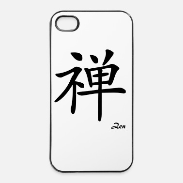 Zen signe chinois zen - iPhone 4/4s hard case