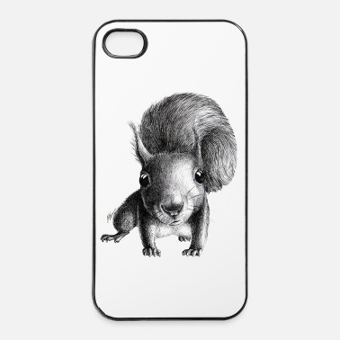 Fortuna scoiattolo - Custodia rigida per iPhone 4/4s