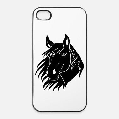 Pony paard paardrijden pony - iPhone 4/4s hard case