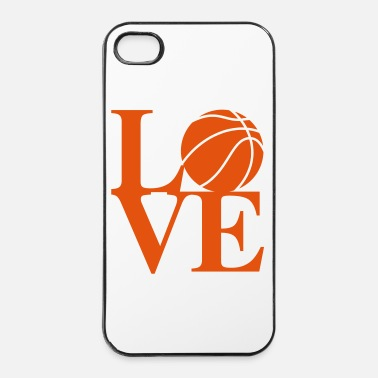 Panier Basketball Love Art - Coque rigide iPhone 4/4s