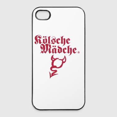 Kölsche Mädche Devil  - iPhone 4/4s Hard Case