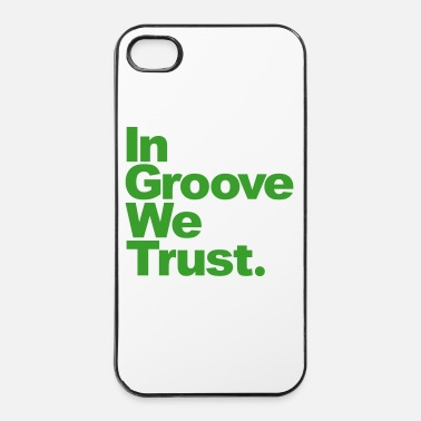 Metal Musique In Groove We Trust - Coque rigide iPhone 4/4s
