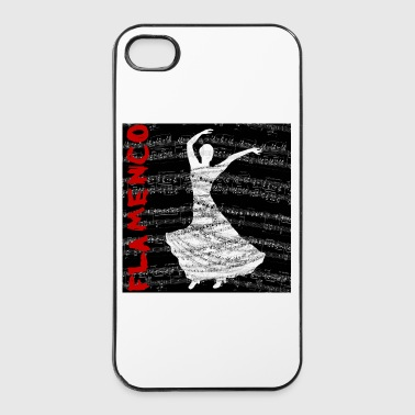 Music&Dance_flamenco - Coque rigide iPhone 4/4s