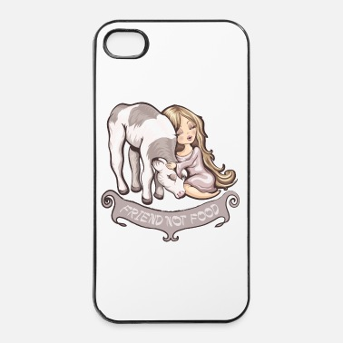 Animal De Compagnie Friend not Food - Coque rigide iPhone 4/4s