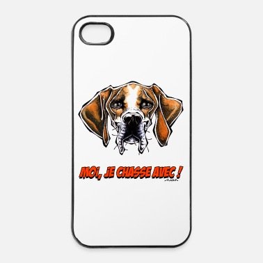 Chasse Le Pointer, Moi Je Chasse Avec ! - Coque rigide iPhone 4/4s