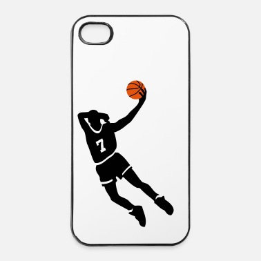 Sport De Balle Basketball slam dunk - Coque rigide iPhone 4/4s