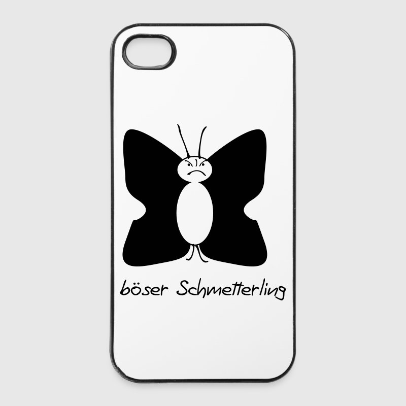 böser Schmetterling - iPhone 4/4s Hard Case