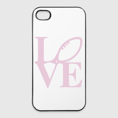Rugby Love Art - Coque rigide iPhone 4/4s