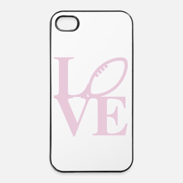 Rugby Rugby Love Art - Coque rigide iPhone 4/4s