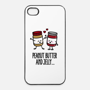 Peuter Peanut butter and jelly - iPhone 4/4s hard case