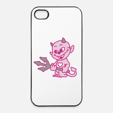 New Age diable bebe - Coque rigide iPhone 4/4s