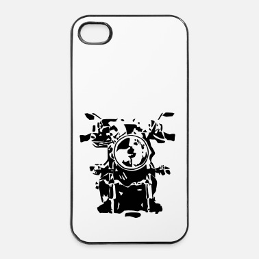 Moto motociclo - Custodia rigida per iPhone 4/4s