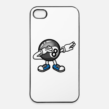 Pool Dab dabbing 8-ball pool billiards billard boule - Coque rigide iPhone 4/4s