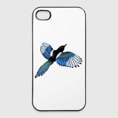 Colour Colourful Magpie - iPhone 4/4s Hard Case