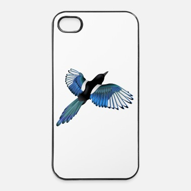 Schillernde Elster - iPhone 4/4s Hard Case