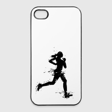 runner female - Coque rigide iPhone 4/4s