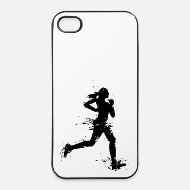 Workout runner female - iPhone 4/4s hard case
